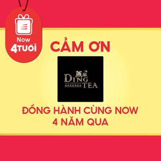 """Mừng """"Now 4 Tuổi Thổi 4 Triệu Deal"""" - Cảm ơn DING TEA đã đồng hành cùng Now"""