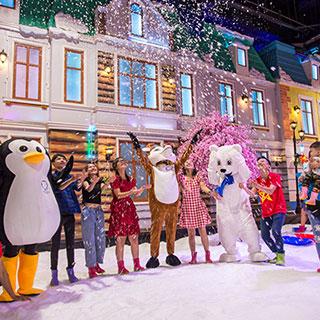 Quốc Khánh đến Snow Town đón niềm vui ngập tràn