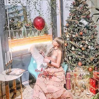 Bắt trend gấp 6 quán cafe decor Giáng Sinh siêu lộng lẫy sớm nhất Hà Nội