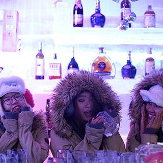 Sống ảo cực chất, Free Upsize cực đã tại thế giới Băng Đăng HP Ice Lounge