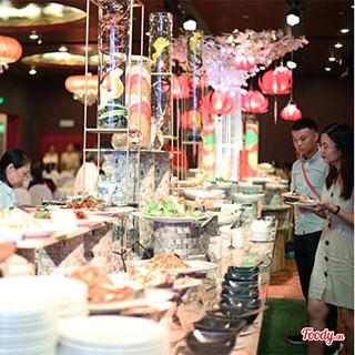 Lạc lối tại thiên đường Buffet Chay siêu hấp dẫn chỉ duy nhất 1 lần trong năm