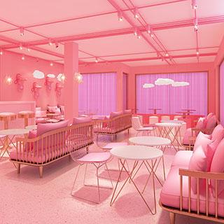 Bắt kịp trend sống ảo, lạc lối giữa thiên đường màu hồng siêu hot sắp ra mặt tại Sài Gòn