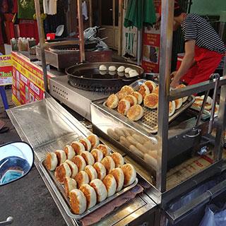 (HCM) Bánh bao chiên nước Đài Loan – ăn chơi ngon rẻ quận Tân Phú