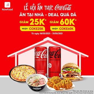 Lễ Hội Ẩm Thực Coca-Cola | Ăn tại nhà - Deal quá đã