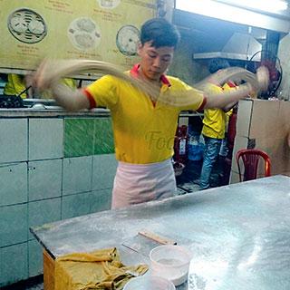(HCM) Mãn nhãn mì Kung Fu đỉnh cao như phim chưởng