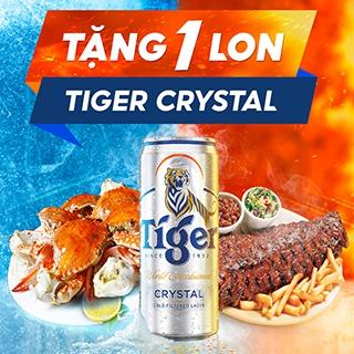 Bùng tiệc vui - Khui Tiger Crystal thật đã!