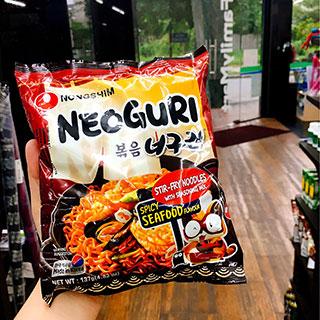 Thỏa cơn thèm với mì xào khô NongShim Neoguri ngon khó cưỡng