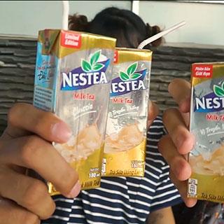 Thỏa ngay cơn thèm Trà Sữa với Nestea Milk Tea cực đỉnh
