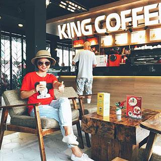 Chất đến phát ngất với tọa độ sống ảo mới toanh tại King Coffee Vũng Tàu