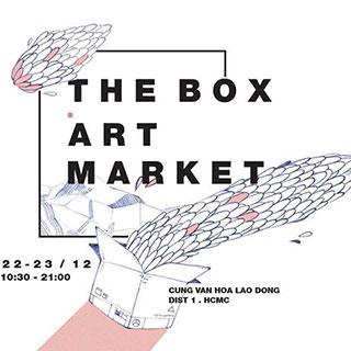 Trải mình với không khí nghệ thuật ngày lễ hội tại The Box Art Market