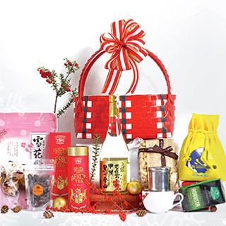 Trình làng giỏ quà GIÁNG SINH đầy ắp đồ xịn của Takashimaya