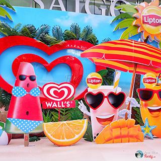 """Đóng băng giữa Hà Nội với 100,000 kem Wall's Miễn Phí tại """"WALL'S – LIPTON SUMMER PARTY"""""""