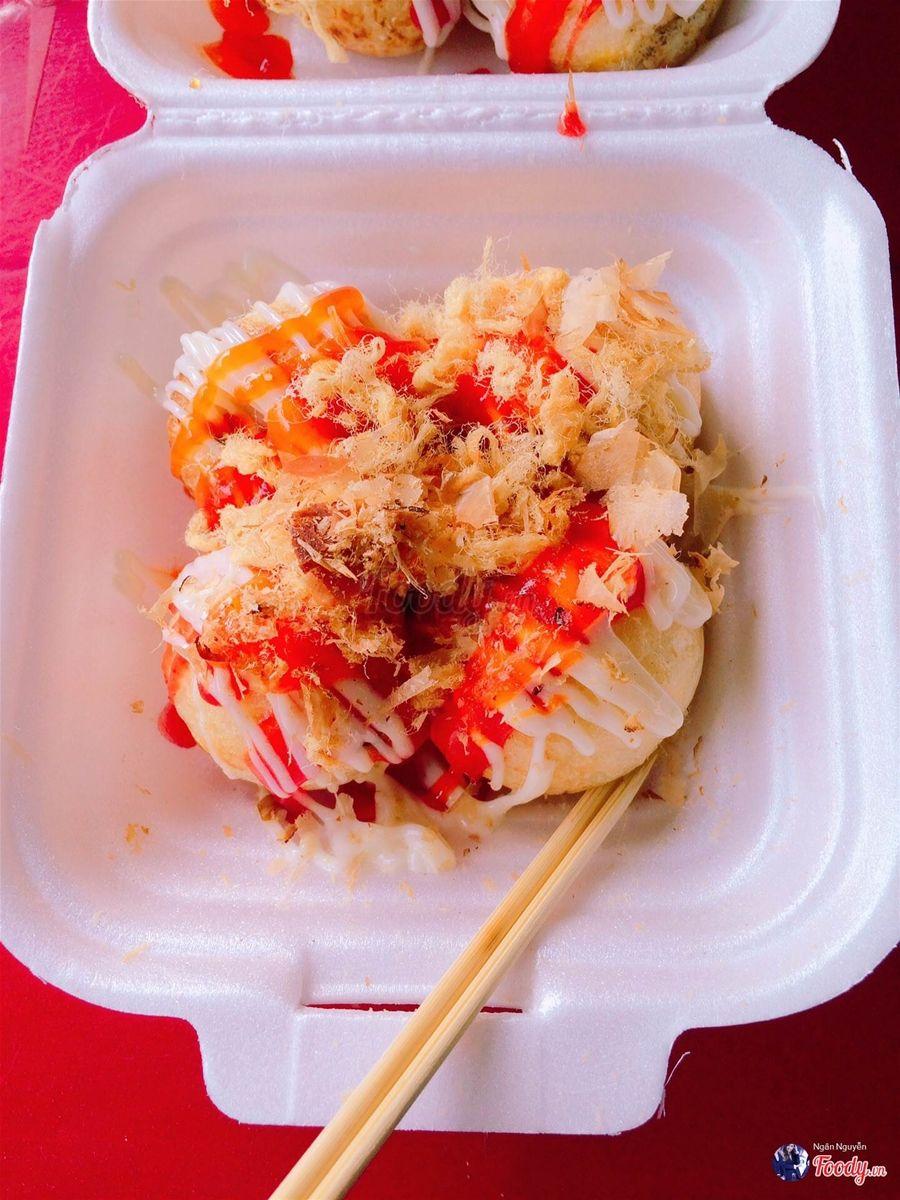 Địa điểm ăn uống siêu ngon, không thể bỏ qua ở quận Tân Phú (Takoyaki)