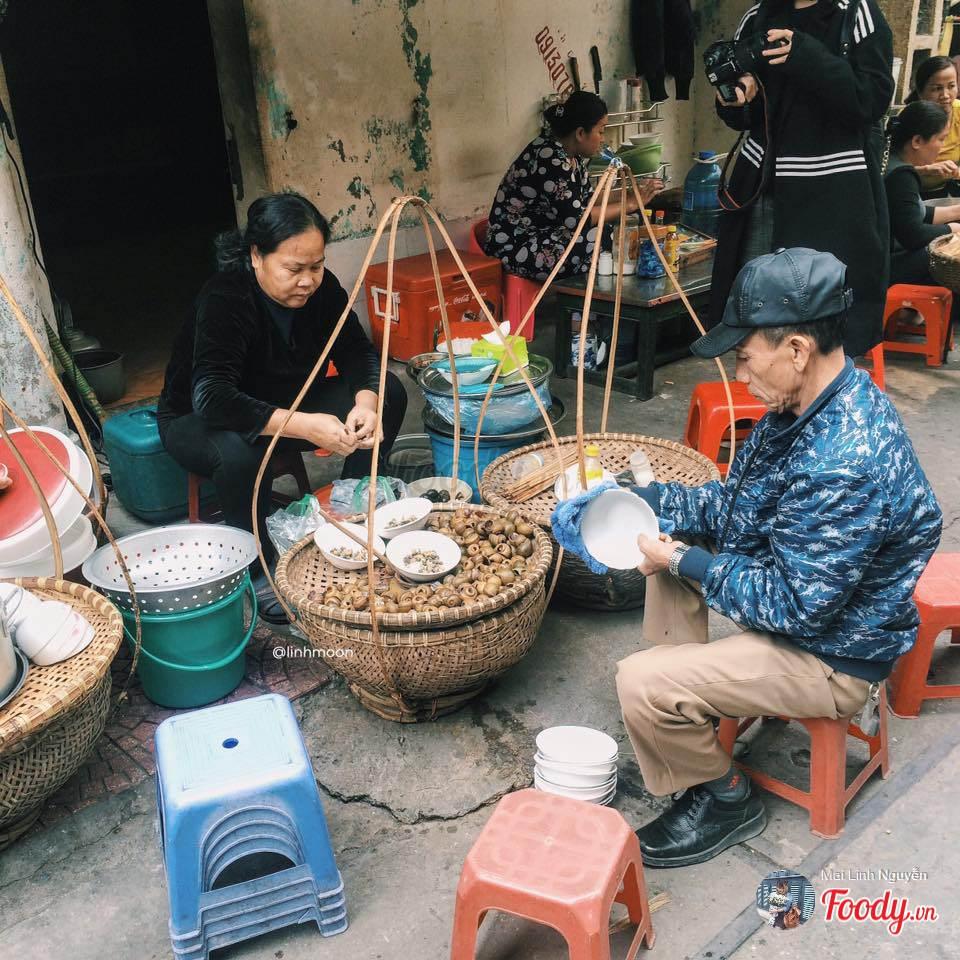 Bún ốc nguội-Tây Sơn
