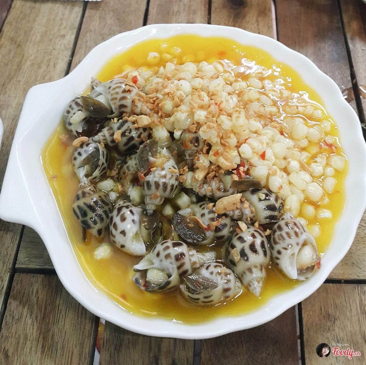 Địa điểm ăn uống siêu ngon, không thể bỏ qua ở quận Tân Phú (ốc Nhớ)