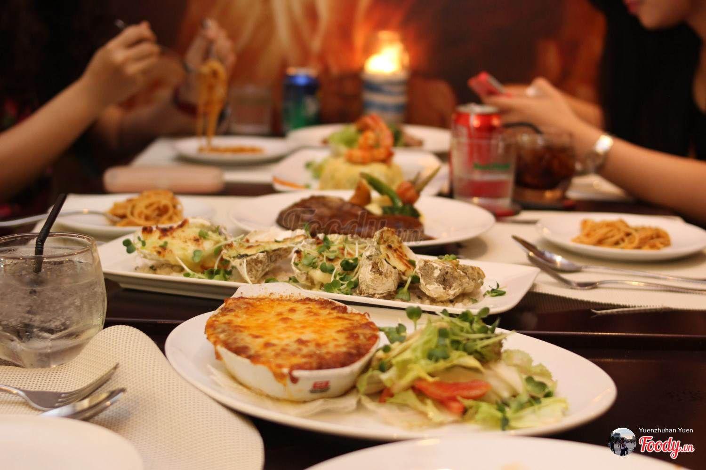 TPHCM) Top 10 nhà hàng món Âu ngon ở Sài Gòn | Bài viết | Foody.vn
