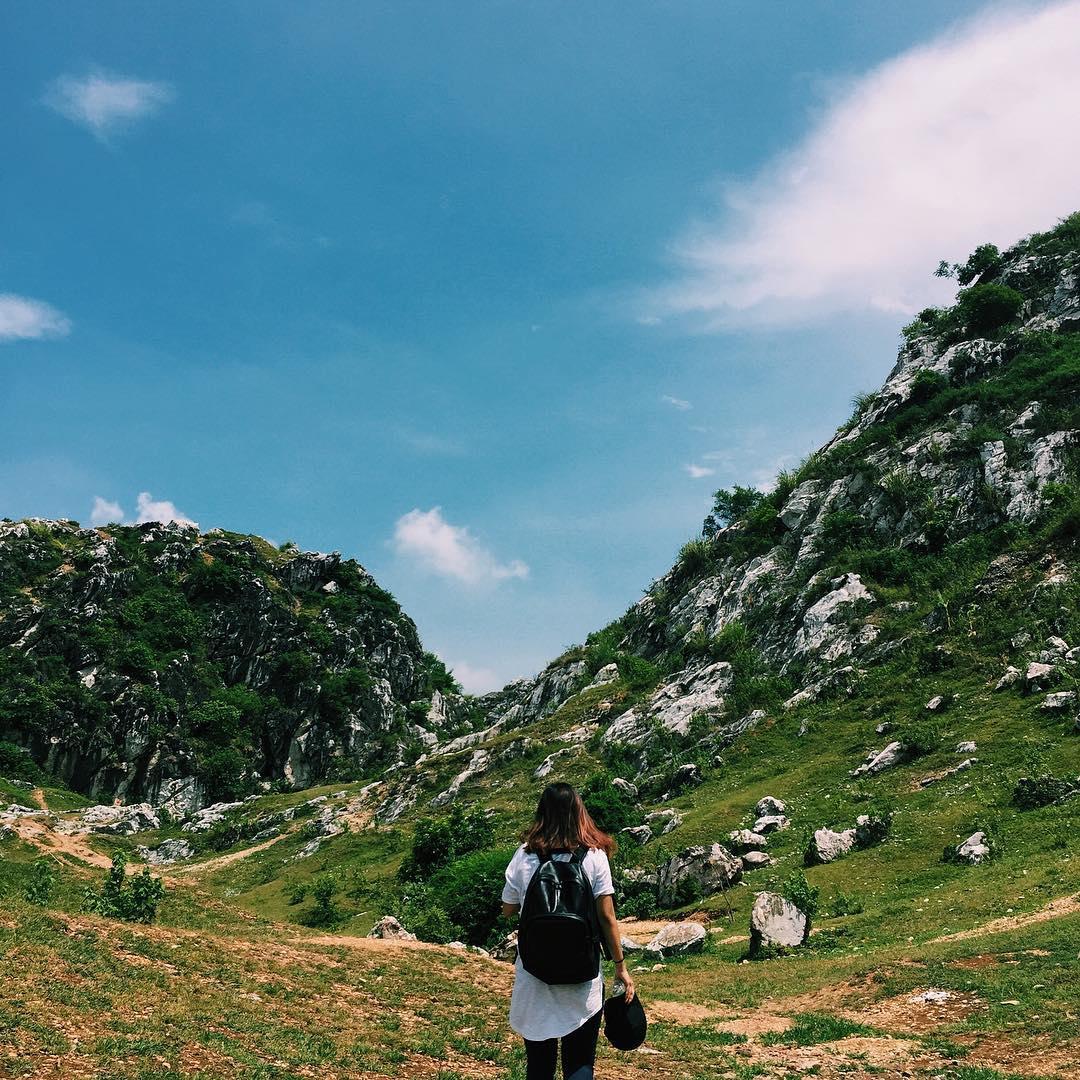 Khung cảnh tại Núi Đá Voi