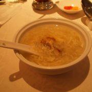 Soup bong bóng cá cua