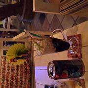 cà phê kem + pepsi