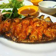cá bò da nướng muối ớt
