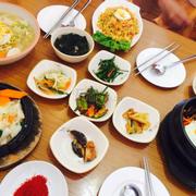 Minh goi Tokbokgi, com chien hải sản, cơm trộn , mì hải sản