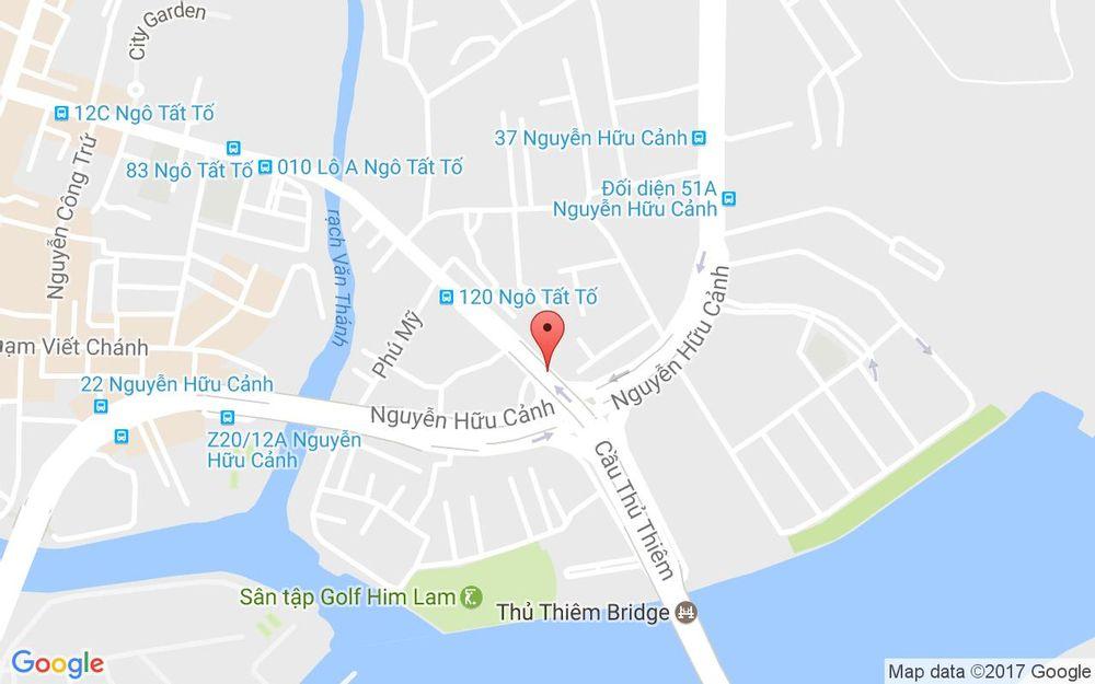 Vị trí bản đồ 234 Ngô Tất Tố, P. 22 Quận Bình Thạnh TP. HCM