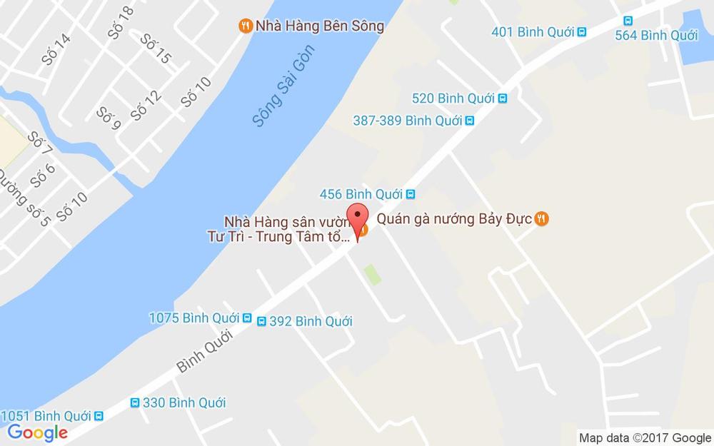 Vị trí bản đồ 840/9 Bình Quới, P. 28 Quận Bình Thạnh TP. HCM