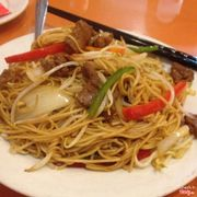No seafood noodles, so we ordered pork. My hubbie and I didn't really like it though.