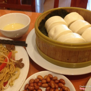 Steamed Buns: empty and plain.