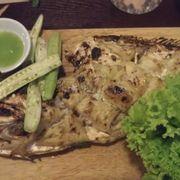 Cá bò da nướng