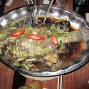 cá mú chưng tương