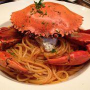 Crab spagetti