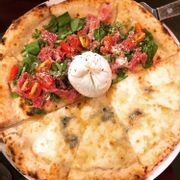 Burrata Parma Ham & House-made 4 Cheese