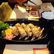 Món cá hồi cuộn nướng sốt teriyaki