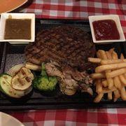 rib eye steak phần 350gram