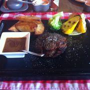 steak bò sốt tiêu