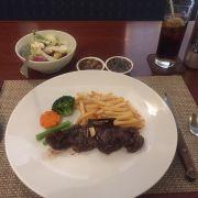 Beefsteak lunch combo