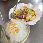 Kem xôi dừa+chè khúc bạch phô mai