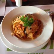 Mì Ýcá hồi nướng sốt cà chua - 150k