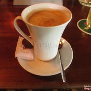 Latte nóng