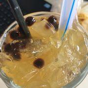 Lục trà chanh trân châu
