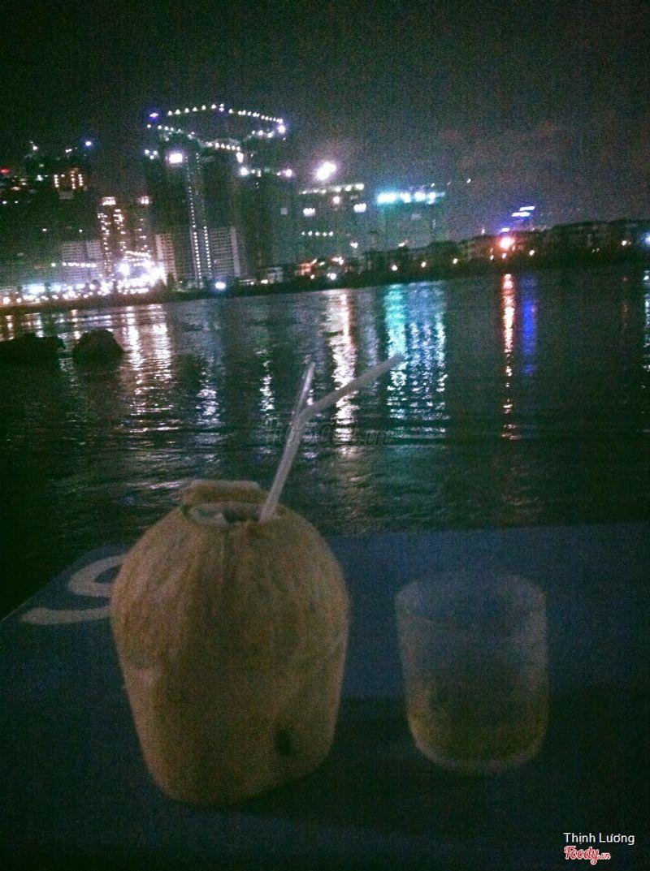 Dừa, bờ sông, cầu SG
