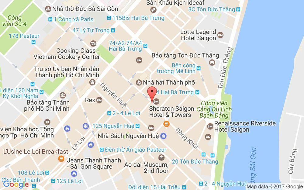 Vị trí bản đồ 88 Đồng Khởi, P. Bến Nghé Quận 1 TP. HCM