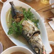cá nục hấp cuốn bánh tráng