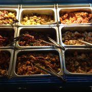 Quầy buffet thịt