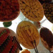 Quầy buffet trái cây