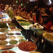 Toàn cảnh  Quầy buffet