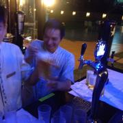 QUầy phục vụ bia tươi Sapporo