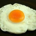 Trứng gà opla thêm