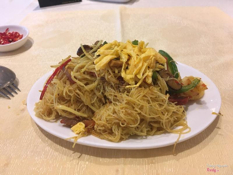 Mỳ xào Singapore